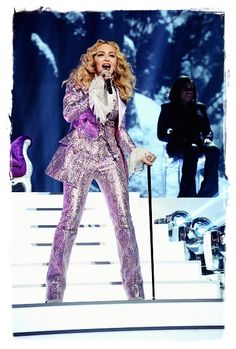 2016 May 22, Billboard Music Awards. Madonna on stage performing a tribute to Prince during the Billboard Music Awards 2016