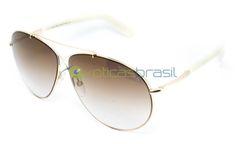 Tom Ford Eva TF 374 28G A Óticas Brasil oferece um grande estoque de itens  para você que é apaixonado por óculos. Nossa entrega é garantida e todos os  ... bfd05ae580