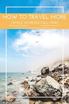 Don't have enough vacation days but want to travel more? Here are some great and helpful tips to get the most out of your vacation days off to travel more while working a full-time job.