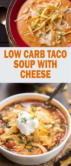 Low Carb Taco Soup by , Low Carb Recipes The Low Carb cuts the cooking time for this simple […] Healthy Soup Recipes, Low Carb Recipes, Crockpot Recipes, Easy Recipes, Drink Recipes, Healthy Taco Soup, Recipes Dinner, Sauce Recipes, Low Carb Taco Soup
