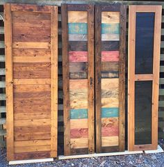 Replace your average doors with these custom made barn doors to give your home that rustic touch its been missing. We can make you a door thats rustic, modern or even a combination of both to fit your decorating style. Our barn doors are hand crafted and we carefully hand select