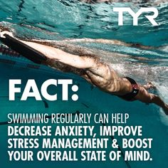 Swimming: More than a sport, it's a lifestyle.