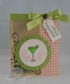 unity stamp company. kit used - Margarita Moments - card created by unity design team member Jen Buck.