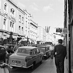 Ireland Capel Street, Dublin at am Date: Tuesday, 28 June 1960 Dublin Street, Dublin City, Ireland 1916, Dublin Ireland, Ireland Vacation, Ireland Travel, Old Pictures, Old Photos, County Cork Ireland