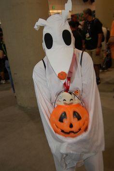 A Nightmare Before Christmas - Zero costume | Homemade Costumes ...