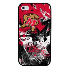 University of Maryland Terrapins - Paulson Designs Spirit Case for iPhone® 4/4S