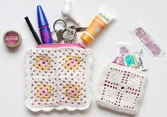 DIY Anleitung: Granny Squares Täschchen // diy tutorial: granny squares bag via DaWanda.com