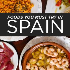 If you like to plan your trips around food ,here's a list of what to eat in Spain to help you get started, especially if it's your first time there..