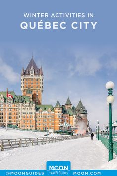 Whether you're in the city or the country, there's a variety of things to do in Quebec City in winter. O Canada, Canada Travel, Travel With Kids, Family Travel, Fun Outdoor Activities, Family Activities, Recreational Activities, Prince Edward Island, Quebec City