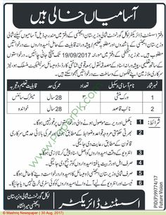 Kpk Government Pakistan Jobs