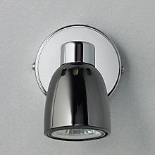 Buy John Lewis Fenix Single LED Spotlight, Black Pearl Nickel Online at johnlewis.com