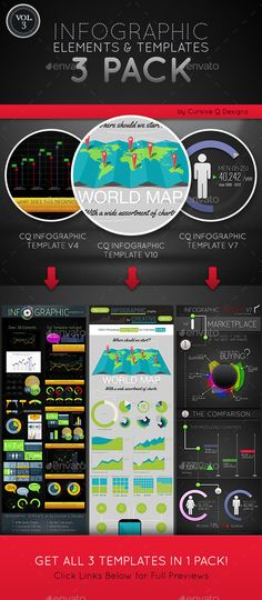 Infographic Ideas buy infographic template : Infographic Template v4 | infographic cvs | Pinterest | Shape ...