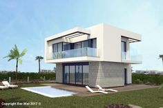 Property Ref 4007: Beautiful new build villa situated in San Miguel Vista Golf, comprises of 3 bedrooms, 2 bathrooms, living room/kitchen, swimming pool optional, 2 Balconies, spacious garden area, anti slip surfaces on all terraces, pre-installation for air conditioning and various extras available. Prices from 179,900€