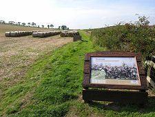 Where James IV Was Killed. Flodden Field.