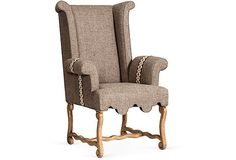 taupe high back accent chair - - Yahoo Image Search Results