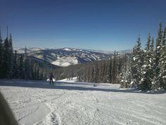 snow boarding in beautiful Colorado