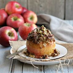 Spiced Apples Stuffed With Very Delicious Things