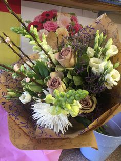 Beautiful bouquet for Mothers Day from www.springfieldflorist.co.uk Chelmsford, Essex
