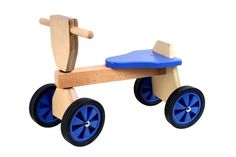 Playwood Loopfiets - Vierwieler - Blauw - Hout Wooden Toys, Baby Boy, Woodworking, Birthday, Retro, Home Decor, Handsome, Google, Wood Toys