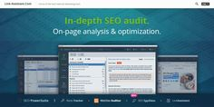 A Website Auditor is a tool of SEO PowerSuite. Website Auditor launched the content editor in its dashboard very recently, which is good news for bloggers and SEO analyzers. You can also analyze your content for the best SEO directly from the desktop application, along with auditing your web pages. Best Seo Tools, Seo Specialist, Internet Marketing, Editor, Desktop, Content, Writing, Website