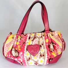 Juicy Couture Pink Daydreamer Hobo