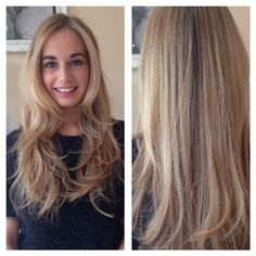La Durbin - Blow Dry - Beautiful Hair - Blonde highlights