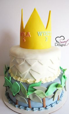 'Where the Wild Things Are' Cake