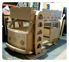 camarote en forma de microbus VW!!!!