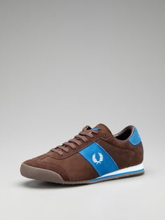 Clifton suede low top sneakers by Fred Perry