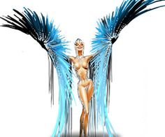 """Mugler Follies"" by Thierry Mugler on December 10 in Paris 