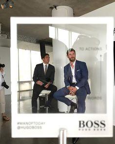 Nową twarzą zapachu #bossbottled jest @chrishemsworth - z aktorem spotkaliśmy się w Nowym Jorku. Koniecznie oglądajcie nasze stories! #manoftoday #nyc @hugoboss @chrishemsworth #ELLEtravelsUS  via ELLE POLAND MAGAZINE OFFICIAL INSTAGRAM - Fashion Campaigns  Haute Couture  Advertising  Editorial Photography  Magazine Cover Designs  Supermodels  Runway Models
