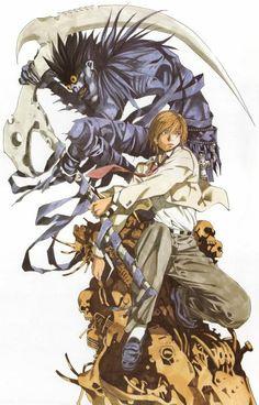 Ryuk and Light Yagami - Death Note