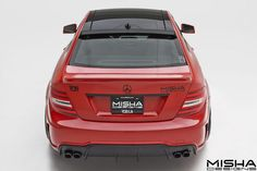 Mercedes-Benz C-Class Wide Body by Misha Designs #mbhess #mbcars #mbtuning #MishaDesigns