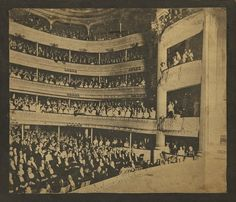 """""""The French Opera House in New Orleans,"""" circa 1902"""