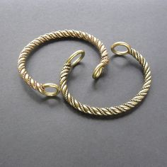 VIKING TORC bracelet in your size Torque Celtic Norse by celtsmith
