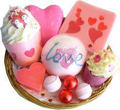 Corbeille de Bain Saint Valentin