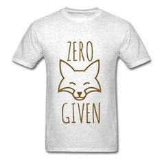 GOLD GLITTER! Zero Fox Given, Unisex T-Shirt