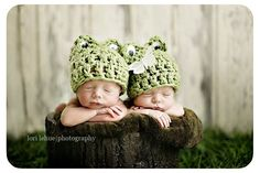 Baby Frog Hat, Plain - Boys or Girls,  Many Sizes - Preemie, Newborn, Infant. $12.00, via Etsy.