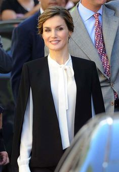 Queen Letizia attends the National Awards for Innovation and Design. Málaga, Spain. 5 Nov 2015