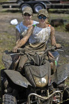 Okay, who doesn't like getting a little muddy while taking their ATV out?!  Even though the trails in Aroostook County are quite dry at the moment, they won't be this upcoming weekend--rain is supposedly en-route!