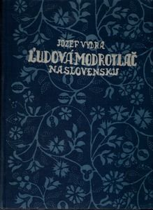 Jozef Vydra: Ludova modrotlac na Slovensku // Jozef Vydra: Folk Blueprint in Slovakia