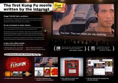 Crowd-sourced Kung Fu film for Maggi Fusian Noodles. On our Facebook page, the fans can write the dialogues for the film.  Created by MercerBell Australia