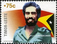 Country: East Timor Series: Anniversary of Independence Catalog codes: Michel TL 380 Themes: Flags Timor Leste, Head Of State, 30th Anniversary, Southeast Asia, Offset, United States, Stamp, Face, Stamps