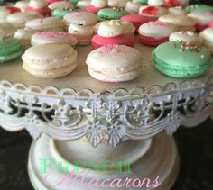 Pistachio - Cocoa Nib Macarons With Bourbon Buttercream Recipes ...
