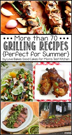 Need some Grilling Pinspiration? Check out more than 70 Grilling Recipes perfect for Summer! {Moms Test Kitchen} #myhttender #grilling #summer