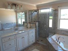 Custom Home Builder Carroll County Maryland Remodeling Additions Garages Finished Basements Kitchens Baths Custom Home Builders, Custom Homes, Basement Kitchen, Home Upgrades, Bathroom Renovations, Master Bathroom, Building A House, Build House, Bathroom Remodeling