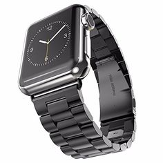 Biaoge Stainless Steel Swiss Made Wristband For Apple Watch 38/42mm Screen Apple Watch Band (3Link Black 42mm) Biaoge http://www.amazon.com/dp/B00YDSZG4A/ref=cm_sw_r_pi_dp_2rnGvb002SR7N