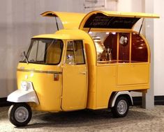 Fancy getting in to to street food business? You came to the right place, Vintage Food Trucks is the best way to stand out of the crowd on the street food!