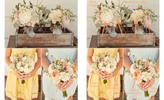 Bouquet Breakdown - Rusticly Romantic