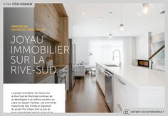 - La Presse+ Garage Double, La Rive, Kitchen Island, Home Decor, First Home, Terraced House, Kitchens, Island Kitchen, Decoration Home
